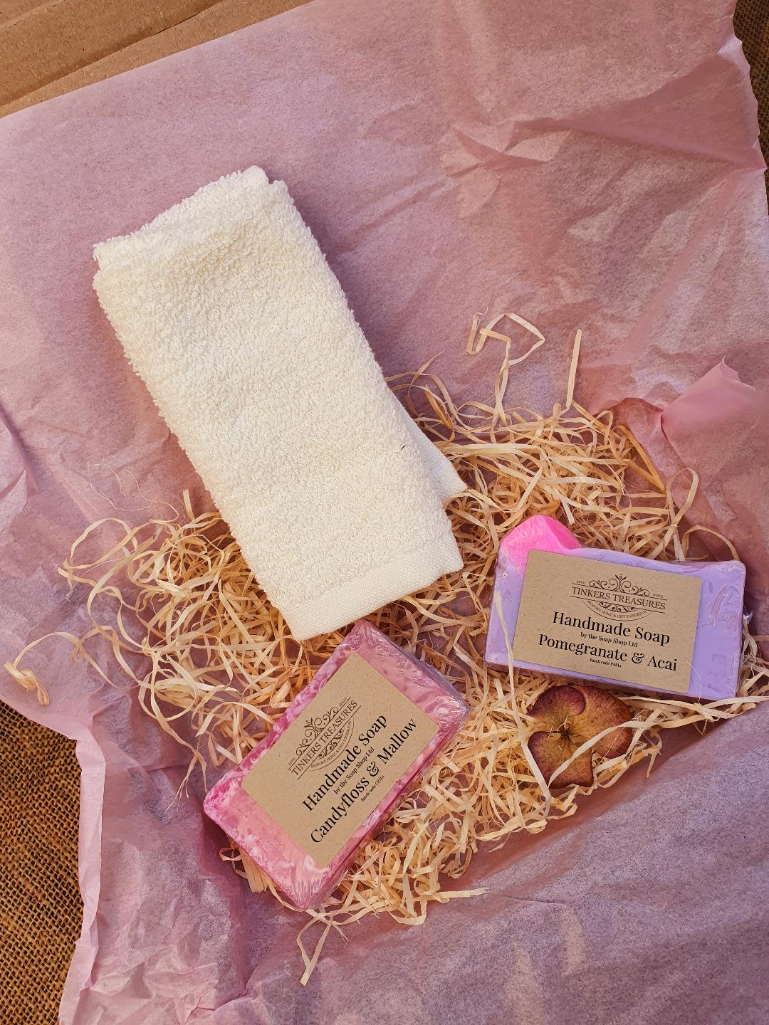 Extra Small Soap Set :- Relaxing, Uplifitng & Sweet/Floral